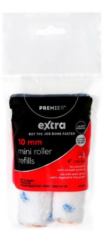 Premier Extra Mini Lint-Free Rollers, 4-in, 2-pk
