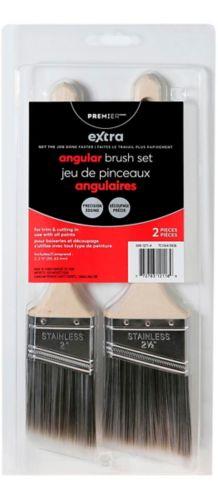 Premier Extra Angular Paint Brush Set, 2-pk Product image