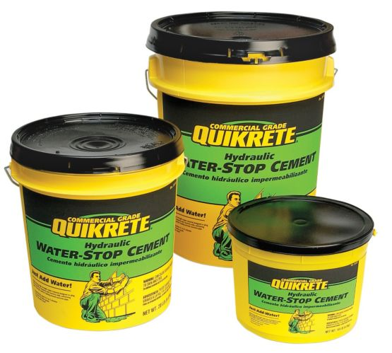 Ciment hydraulique hydrofuge Quikrete, 9 kg