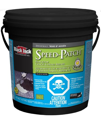 Réparation de fissures et de trous Black Jack Speed Patch, dessus noir Image de l'article
