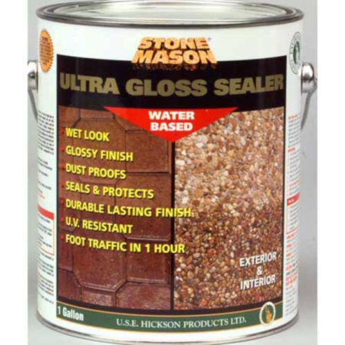 Stone Mason Ultra Gloss Sealer, 3.78-L