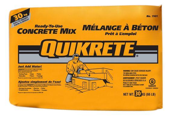 Mélange à béton Quikrete, 66 lb Image de l'article