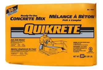 Quikrete Concrete Mix 60 Lb Canadian Tire
