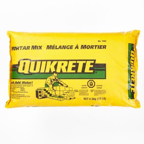 Quikrete Mortar Mix, 10-lb
