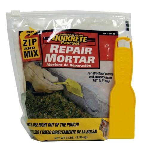 Mortier de réparation Quikrete, zipper et mélanger, 3 lb Image de l'article