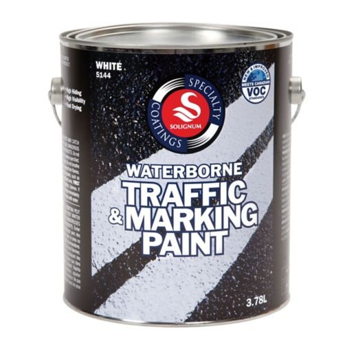Specialty Coatings Traffic & Marking Paint, 3.78-L