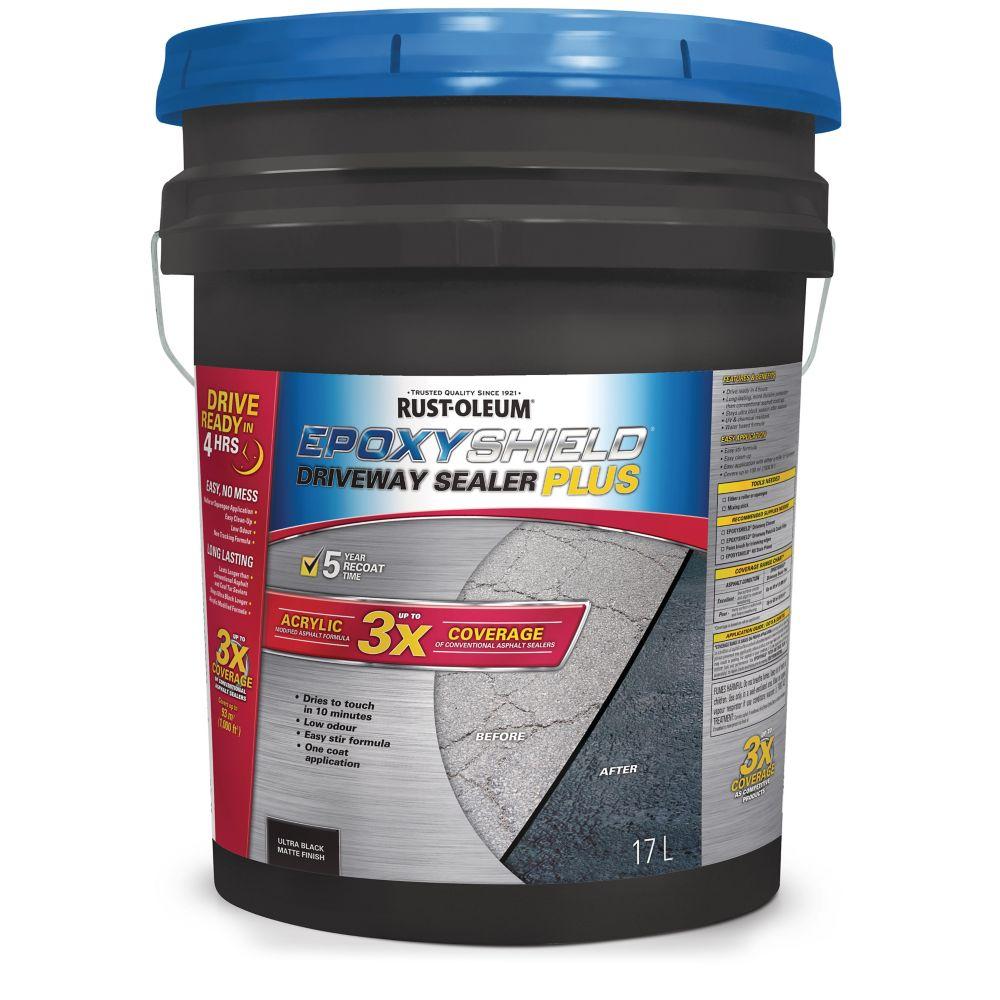 Rust-Oleum Epoxy Shield Driveway Sealer Plus, 17-L