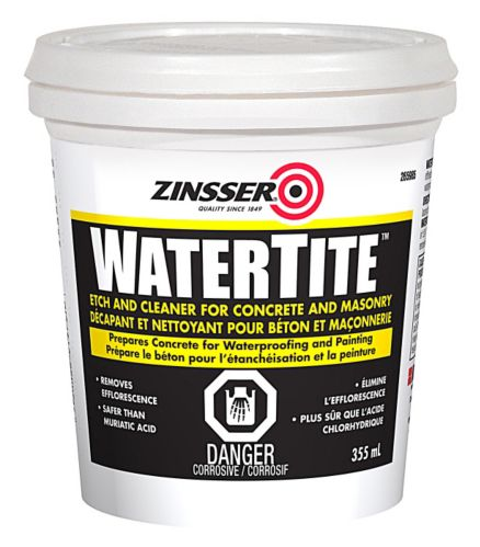 Zinsser WaterTite Concrete Etch and Cleaner, 355-mL Product image