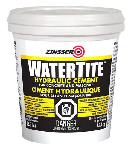 Ciment hydraulique Zinsser WaterTite, 2,5 lb Image de l'article