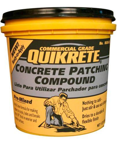 Bouche-fentes pour réparation de béton Quikrete