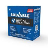 Tousse de départ de solvants de qualité professionnelle Solvable, paq. 4 | SOLVABLEnull