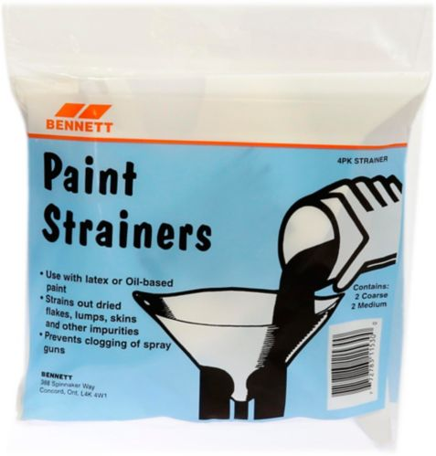 Project Select Paint Strainer, 4-pk