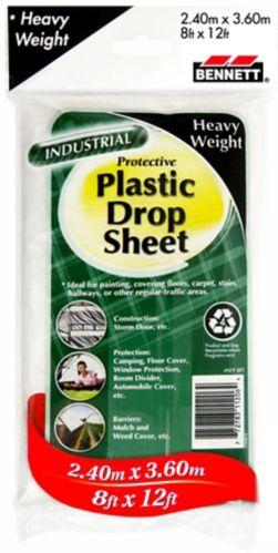 Feuille de protection épaisse, plastique transparent Image de l'article
