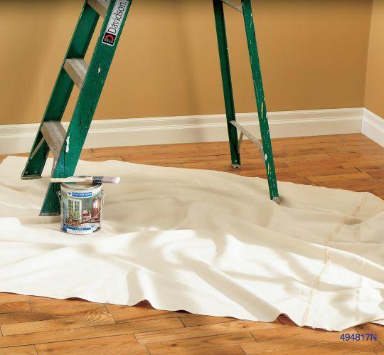 Bennett Canvas Dropsheet, 4 x 12-ft Product image
