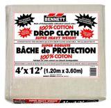 Bennett Canvas Dropsheet, 4 x 12-ft | Bennettnull