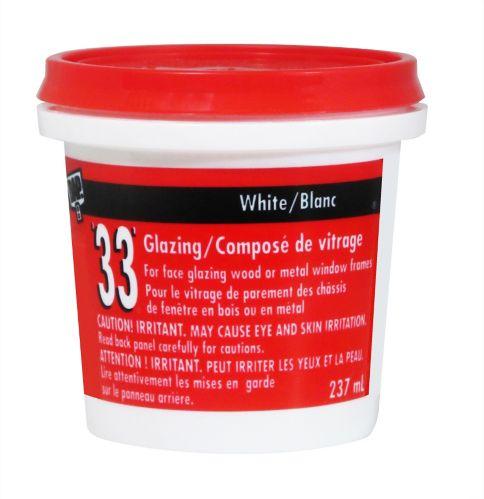 DAP 33 Glazing Putty, 237-mL Product image