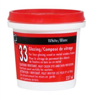 DAP 33 Glazing Putty, 237-mL