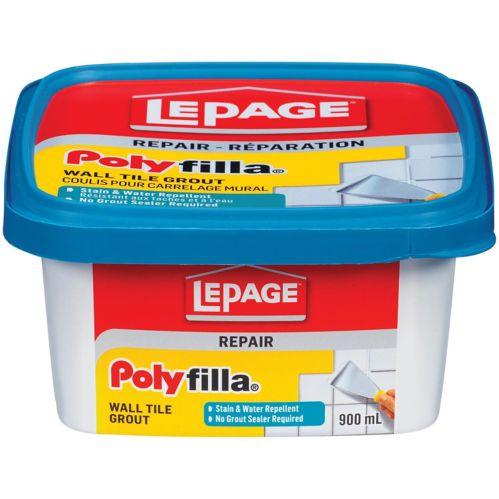 Coulis pour carreaux muraux LePage Polyfilla, 900 ml