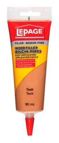 LePage Interior Tinted Wood Filler, Teak, 90-mL