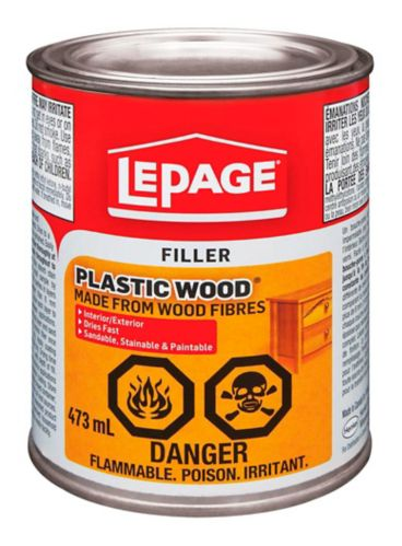 LePage Plastic Wood Filler, 473-mL Product image