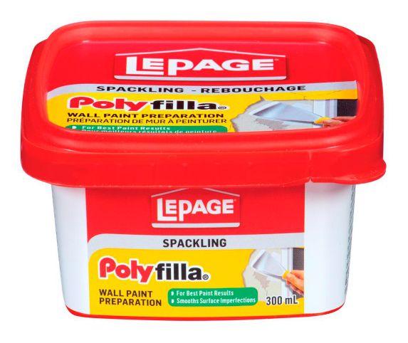 Préparation de mur à peinturer LePage Polyfilla Image de l'article