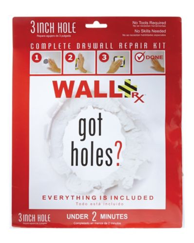 Wall RX Drywall Repair Kit, 3-in Product image