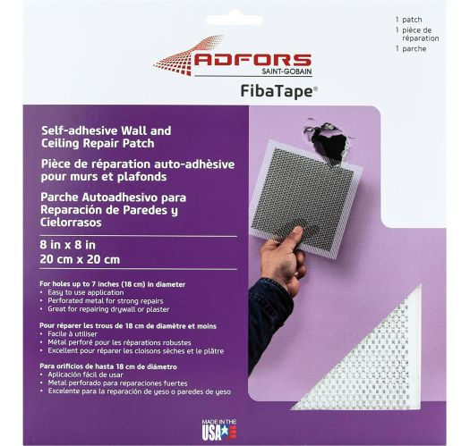 Saint-Gobain Wall Repair Patch, 8-in