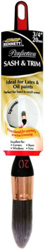 Bennett Round Paint Brush, 3/4-in Product image