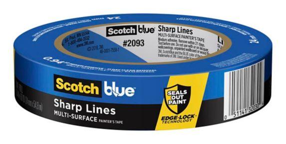 Ruban de peintre ScotchBlue lignes nettes, 1 po Image de l'article