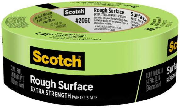 Scotch® Rough Surface Painter's Tape, 1.5-in Product image
