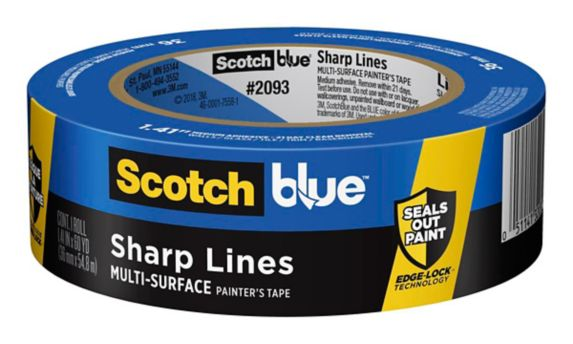 ScotchBlue™ Sharp Lines Painter's Tape, 1.5-in Product image