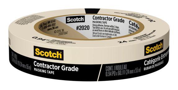 Ruban à masquer de qualité entrepreneur Scotch, 24 mm x 55 m Image de l'article