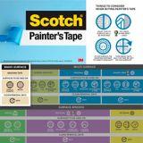 Ruban à masquer de qualité entrepreneur Scotch, 24 mm x 55 m | Scotchnull