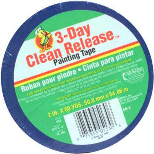 3-Day Clean Release Blue Painters Tape, 2-in x 180-ft