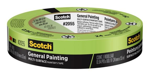 Scotch General Painting Multi-Surface Painter's Tape, 24-mm x 55-m Product image