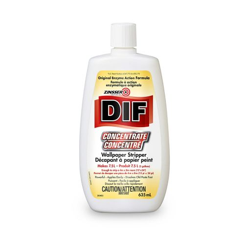 Zinsser DIF Concentrate Liquid Wallpaper Stripper, 635-mL Product image