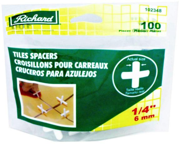 Richard Tile Spacer, 1/4-in, 100-pc Product image
