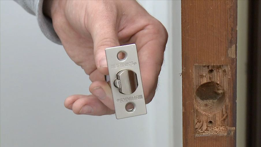 How To Replace Door Locks And Hardware Canadian Tire