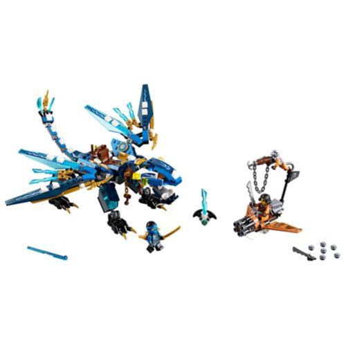LEGO® Ninjago Jay's Elemental Dragon, 350-pc