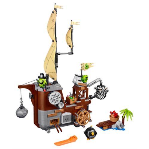 LEGO Angry Birds, Bateau pirate du cochon, 620 pièces