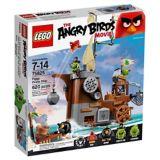 LEGO Angry Birds, Bateau pirate du cochon, 620 pièces | Legonull