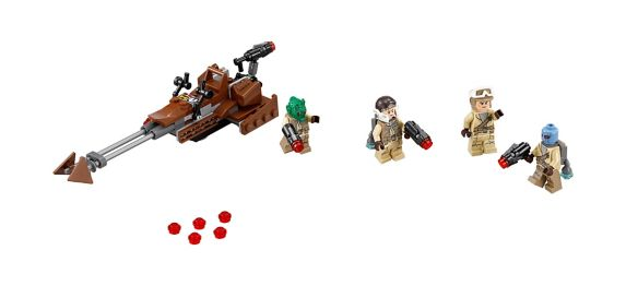LEGO Star Wars, Combat de l'Alliance rebelle, 101 pièces