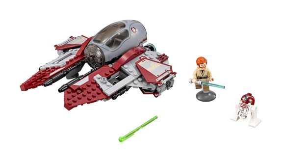 LEGO® Star Wars™ Obi-Wan's Jedi Interceptor™, 215-pc