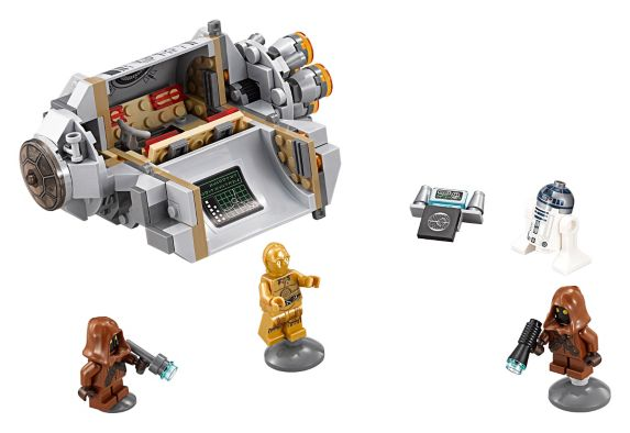 LEGO Star Wars, Capsule d'évasion Droid, 197 pièces