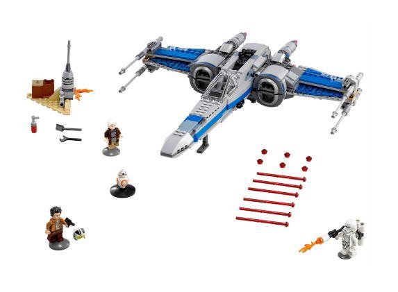 LEGO Star Wars, X-Wing Fighter de la Résistance, 740 pièces Image de l'article