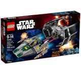 LEGO Star Wars, TIE Advanced de Darth Vader, 702 pièces | Legonull