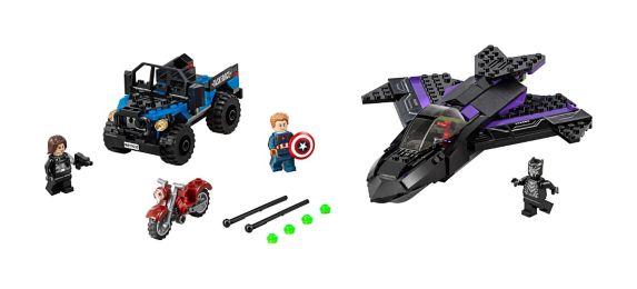 LEGO® Super Heroes Black Panther Pursuit, 287-pc Product image