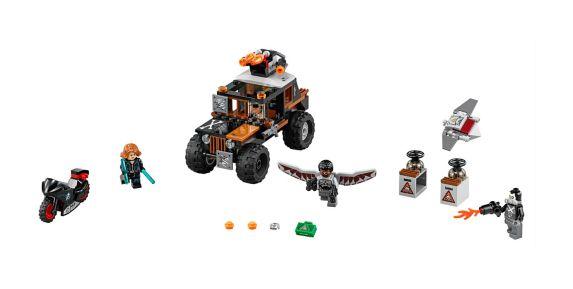 LEGO Super Heroes, Attaque toxique de Crossbones, 179 pièces Image de l'article