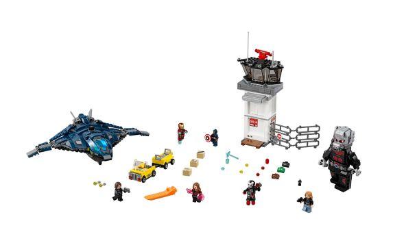 LEGO Super Heroes, Combat super héros aéroport, 807 pièces Image de l'article