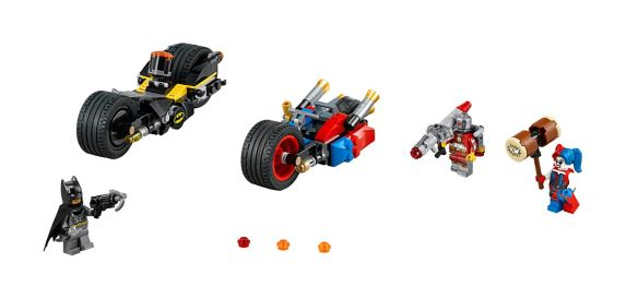 LEGO Super Heroes, Batman Poursuite à Gotham City, 224 pces Image de l'article